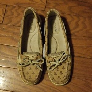 """Sperry """"Angelfish"""" Shoes with Anchor Detail"""